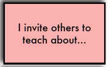 I invite others...
